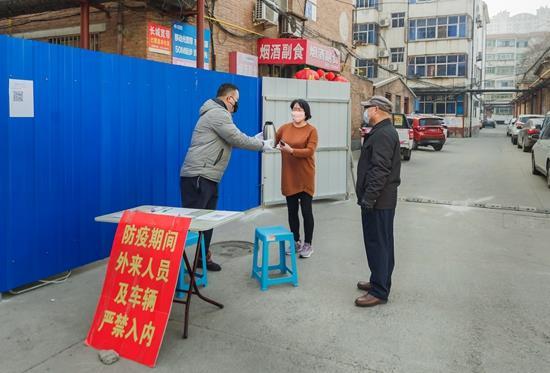 沧州市店:党员一线抗疫 彰显新华精神